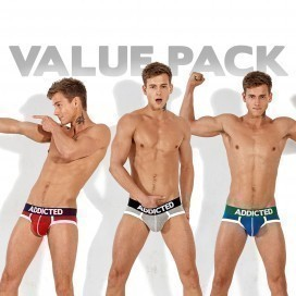 Addicted Pack Basic Three Brief
