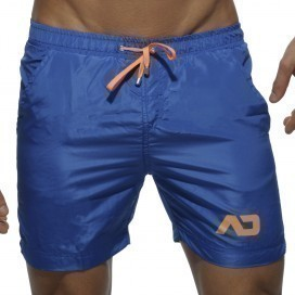 Addicted Short de bain Swim long Bleu