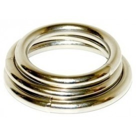 Lot de 3 cockrings métalliques