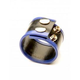 Ballstretcher Rubber 2 Pressions Bleu