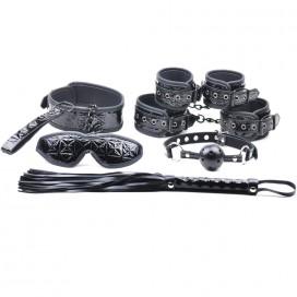 Kit SM Fetish 6 Pièces Noir