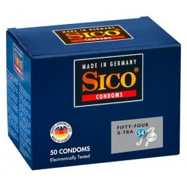 Préservatifs Sico x50 54mm