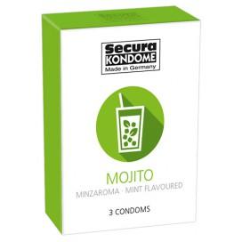 Secura Kondome Préservatifs Mojito x3