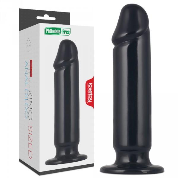 Plug XL King 22 x 5 cm Noir