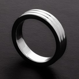 Triune Cockring Ribbed 10mm