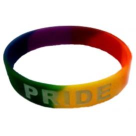 Pride Items Bracelet Arc-en-ciel Pride Silicone