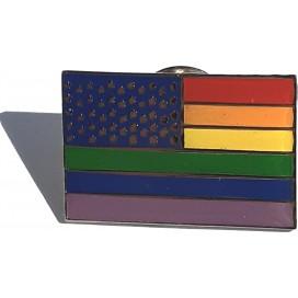 Pride Items Pin's Rainbow Etoilé